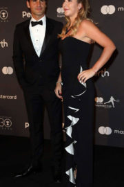 Belinda Bencic and Roger Federer Stills at Hopman Cup New Years Eve Players Ball in Perth 2017/12/31