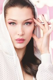Bella Hadid Poses for Dior Makeup 2018 Issue