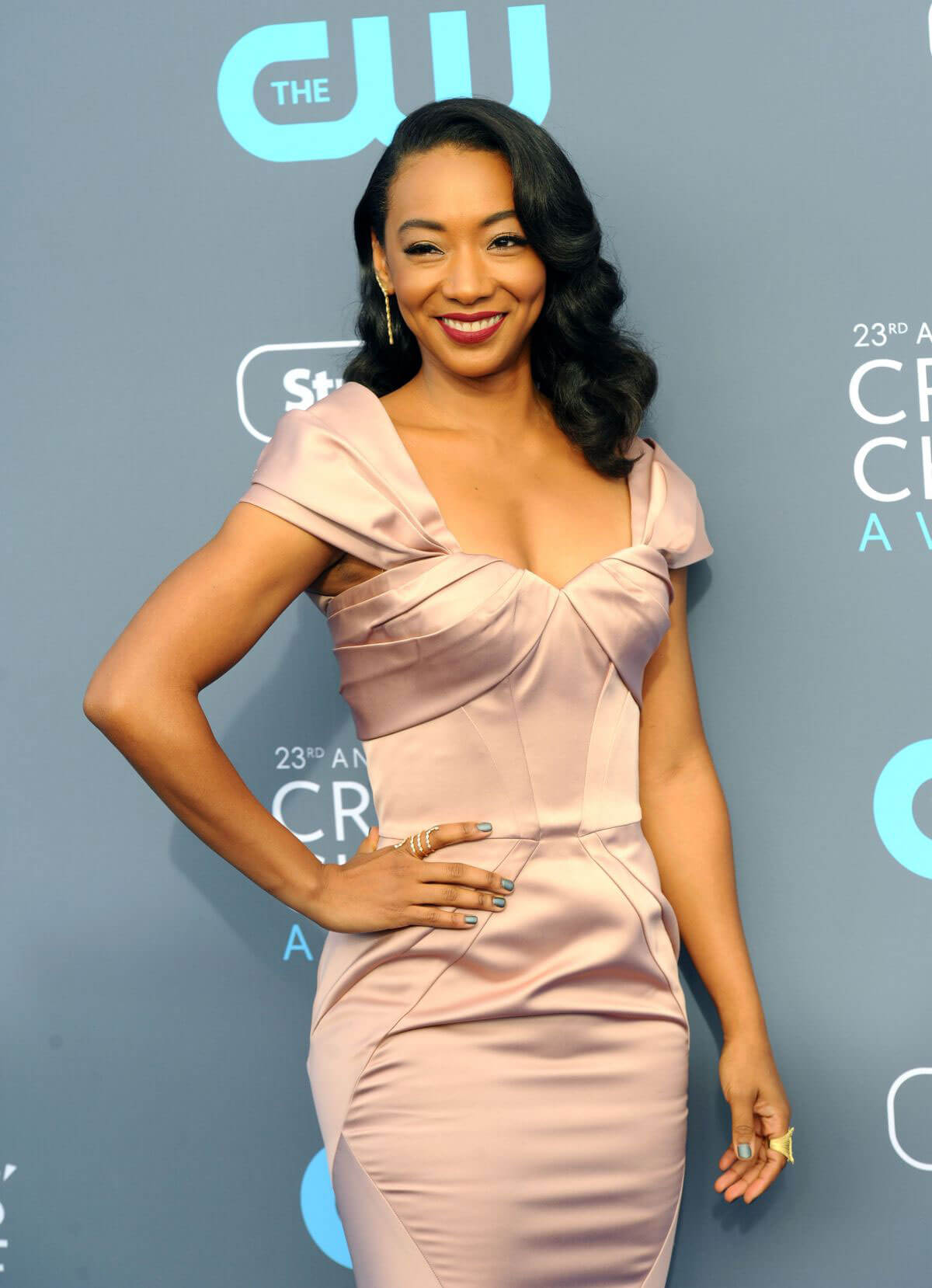 Betty Gabriel Stills at 2018 Critics Choice Awards in Santa Monica 2018/01/11