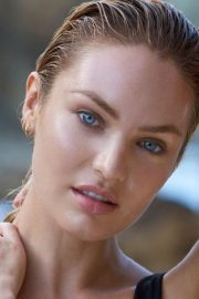 Candice Swanepoel Poses for Biotherm Photoshoot 2018