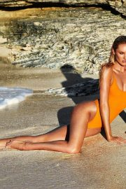 Candice Swanepoel Poses for TropicofC, Swimwear Collection by Candice Swanepoel, January 2018