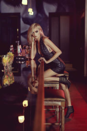 Cara Delevingne Poses for Jimmy Choo 2017/2018 Holiday Campaign Photos