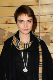 Cara Delevingne Stills at Bollare Holiday Harvest x Timberland Fall Style Event in Beverly Hills 2017/11/14