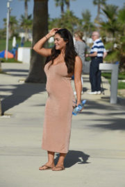 Casey Batchelor Stills Out and About in Cyprus 2017/11/18