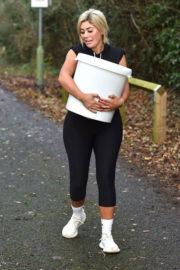 Chloe Ferry Stills Working Out in Teesside 2017/12/07