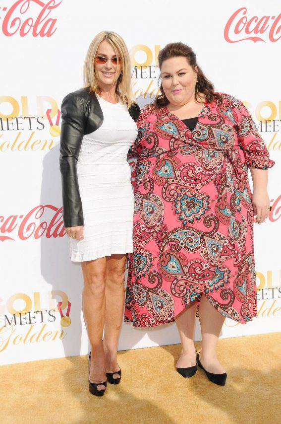 Chrissy Metz Stills at 5th Annual Gold Meets Golden in Los Angeles 2018/01/06