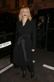 Courtney Love Stills at Yves Saint Laurent Night at Beauty Hotel in Paris