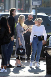 Dakota and Elle Fanning Stills Out for Lunch in Studio City 2018/01/01