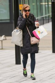 Darcey Bussell Stills Out and About in Leeds 2018/01/26