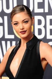 Demi-Leigh Nel-Peters Stills at Instyle and Warner Bros Golden Globes After-party in Los Angeles 2018/01/07