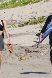 Diane Kruger and Norman Reedus Stills at a Beach in Costa Rica 2018/01/02