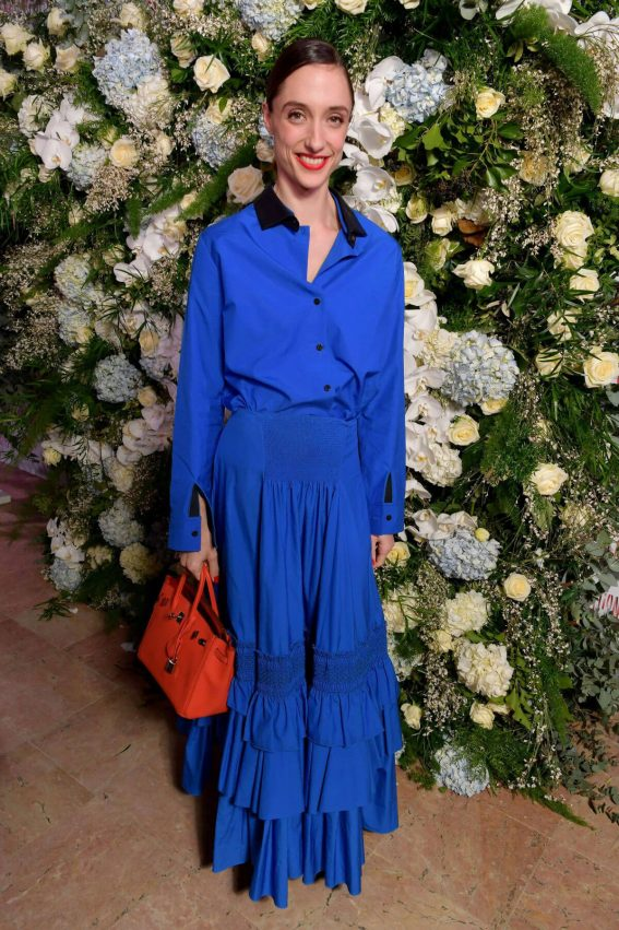 Dorothee Gilbert Stills at Sidaction Gala Dinner in Paris 2018/01/25