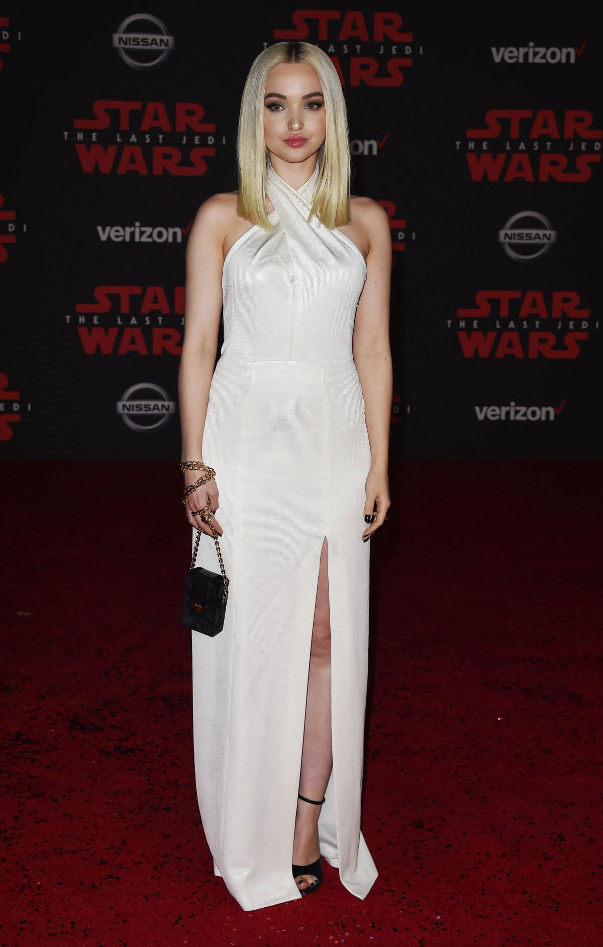 Dove Cameron Stills At Star Wars The Last Jedi Premiere