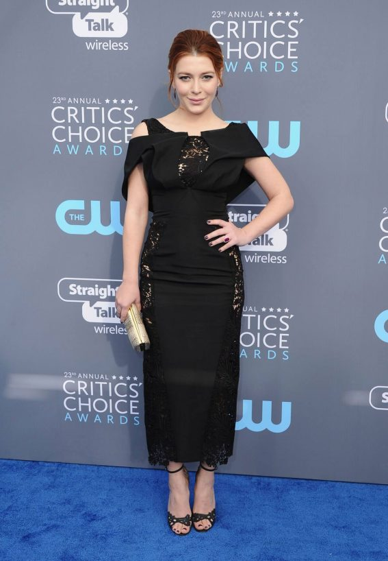 Elena Satine Stills at 2018 Critics Choice Awards in Santa Monica 2018/01/11