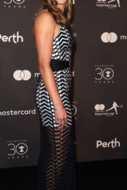 Elise Mertens and David Goffin Stills at Hopman Cup New Years Eve Players Ball in Perth 2017/12/31