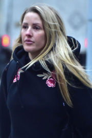Ellie Goulding Stills Out Shopping in New York 2018/01/10