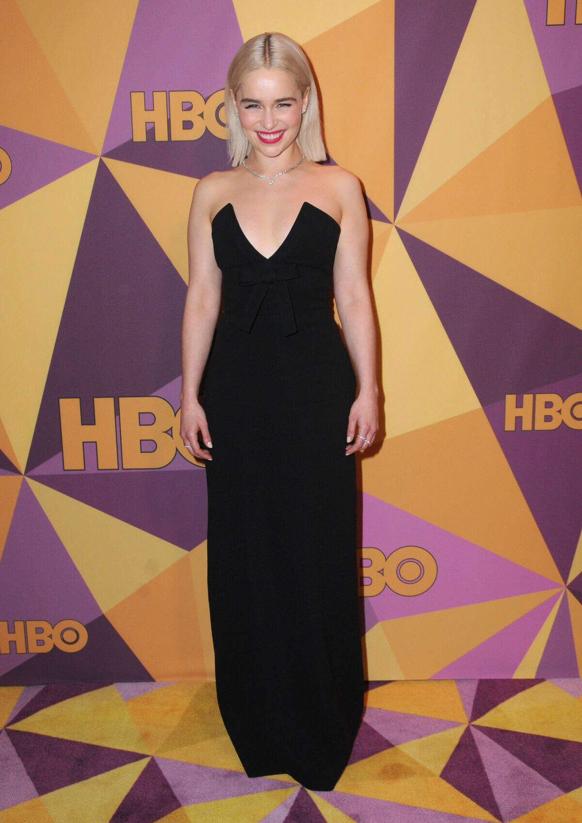 Emilia Clarke Stills at HBO's Golden Globe Awards After-party in Los Angeles 2018/01/07