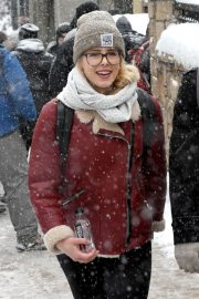 Emily Bett Rickards Stills Out and About in Park City 2018/01/25