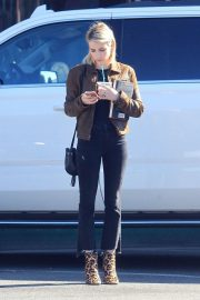 Emma Roberts Stills Out for a Coffee in Beverly Hills 2018/01/26