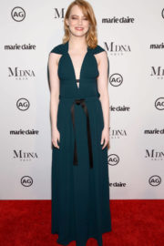 Emma Stone Stills at Marie Claire Image Makers Awards in Los Angeles 2018/01/11