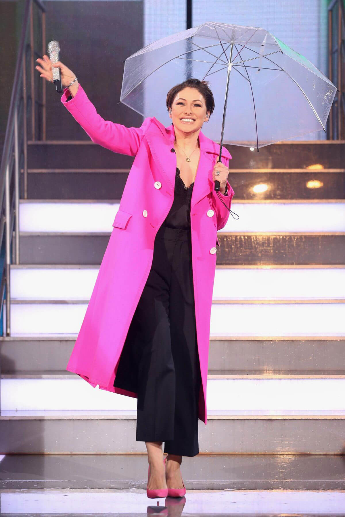 Watch Emma willis celebrity big brother launch night in england video