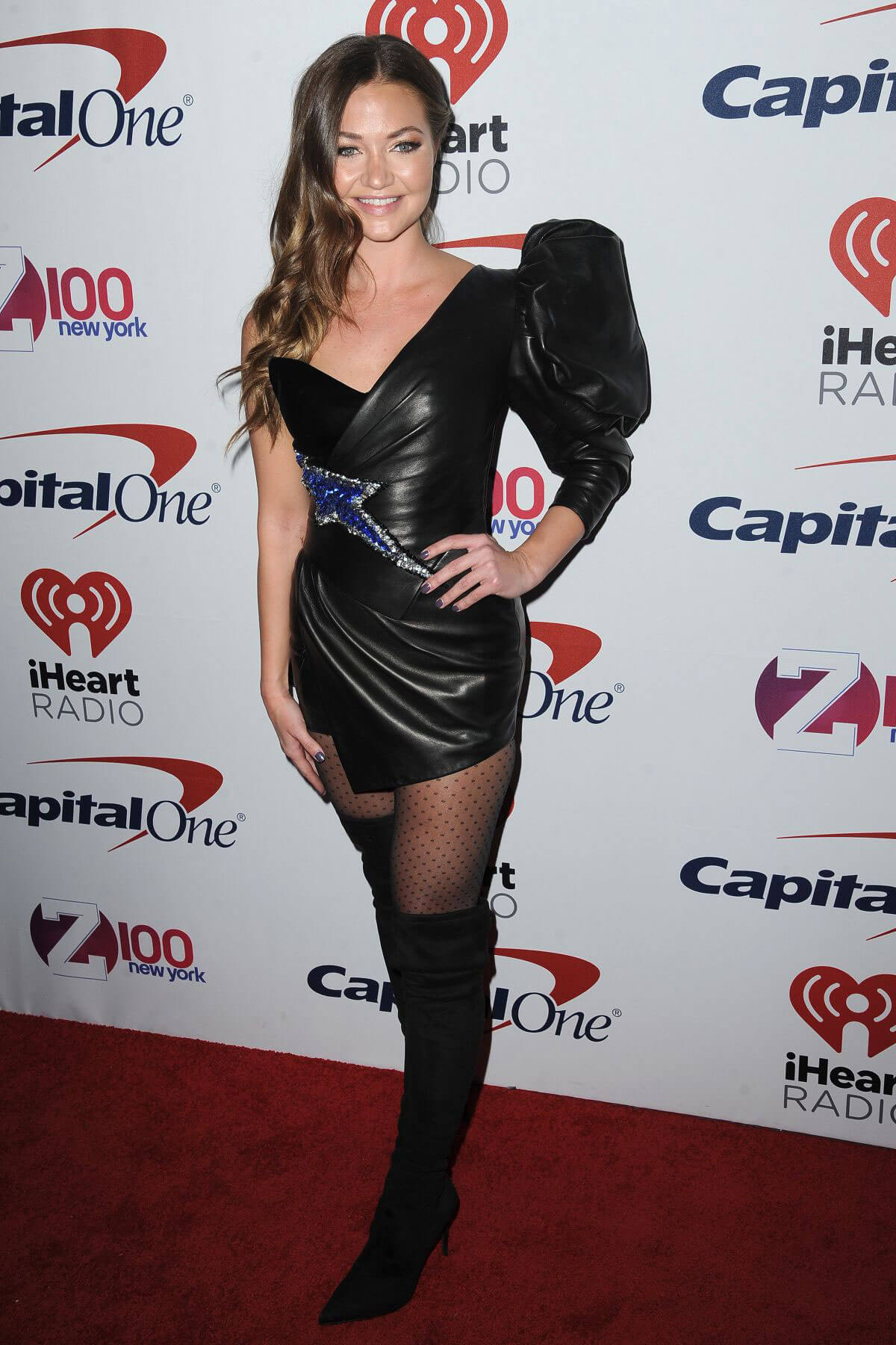 Erika Costell Stills at Z100 Jingle Ball in New York 2017/12/08