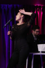 Eva Noblezada Stills Performs at Her Solo Concert at Green Room 42 in New York 2018/01/03