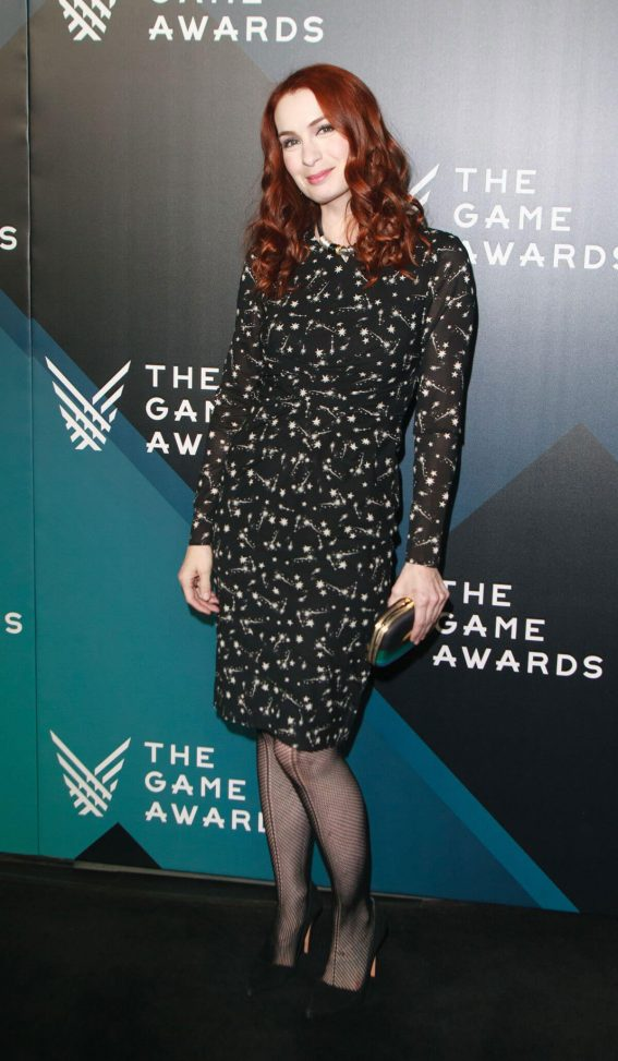 Felicia Day Stills at The Game Awards 2017 at Microsoft Theater in Los Angeles 2017/12/07