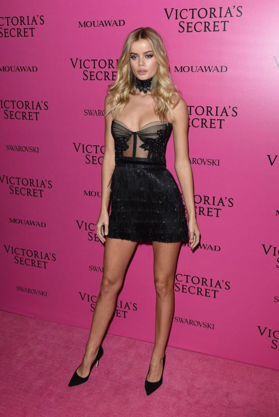 Frida Aasen Stills at 2017 VS Fashion Show After Party in Shanghai 2017/11/20