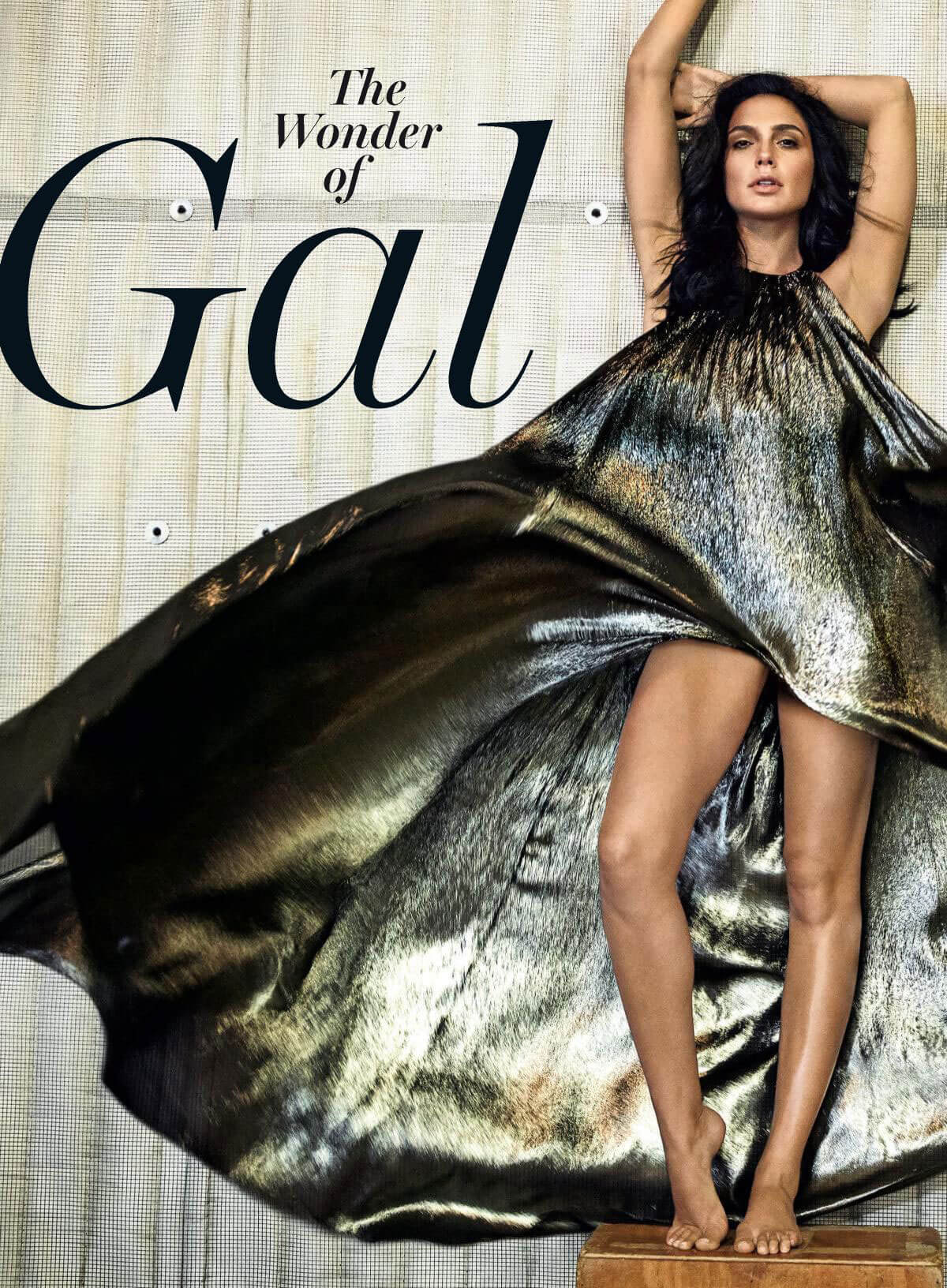 Gal Gadot Stills in Rolling Stone Magazine, September 2017 Issue
