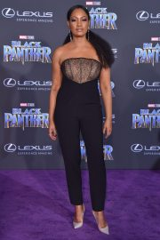 Garcelle Beauvais Stills at Black Panther Premiere in Hollywood 2018/01/29