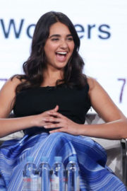 Geraldine Viswanathan Stills at Miracle Workers Show Panel at TCA Winter Press Tour in Los Angeles 2018/01/11