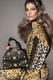 Gisele Bundchen, Naomi Campbell and Kaia Gerber Poses for Versace 2018 Campaign