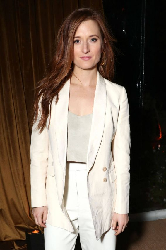 Grace Gummer Stills at Amazon Studios Holiday Party in Los Angeles 2017/12/09