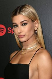 Hailey Baldwin Stills at 2018 Spotify Best New Artists Party in New York 2018/01/25