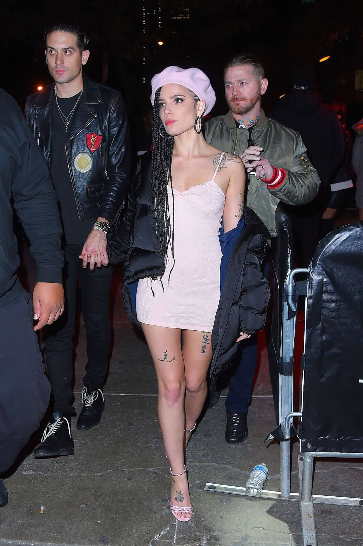 Halsey and G-Eazy Stills at Avenue Nightclub in New York 2017/12/08