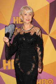 Helen Mirren Stills at HBO's Golden Globe Awards After-party in Los Angeles 2018/01/07