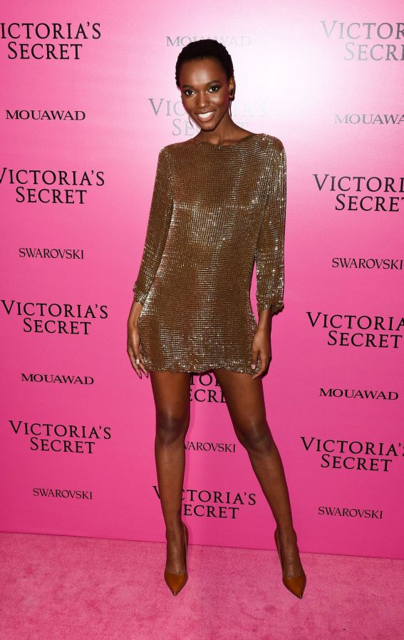 Herieth Paul Stills at 2017 VS Fashion Show After Party in Shanghai 2017/11/20