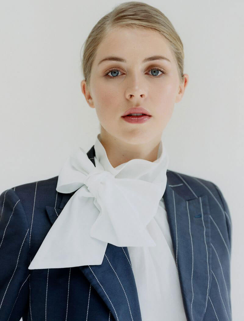d561fe14b67 Hermione Corfield Poses for Town and Country  Great British Brands 2018