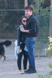 Hilary Duff and Matthew Koma Stills Out in Los Angeles 2017/11/18