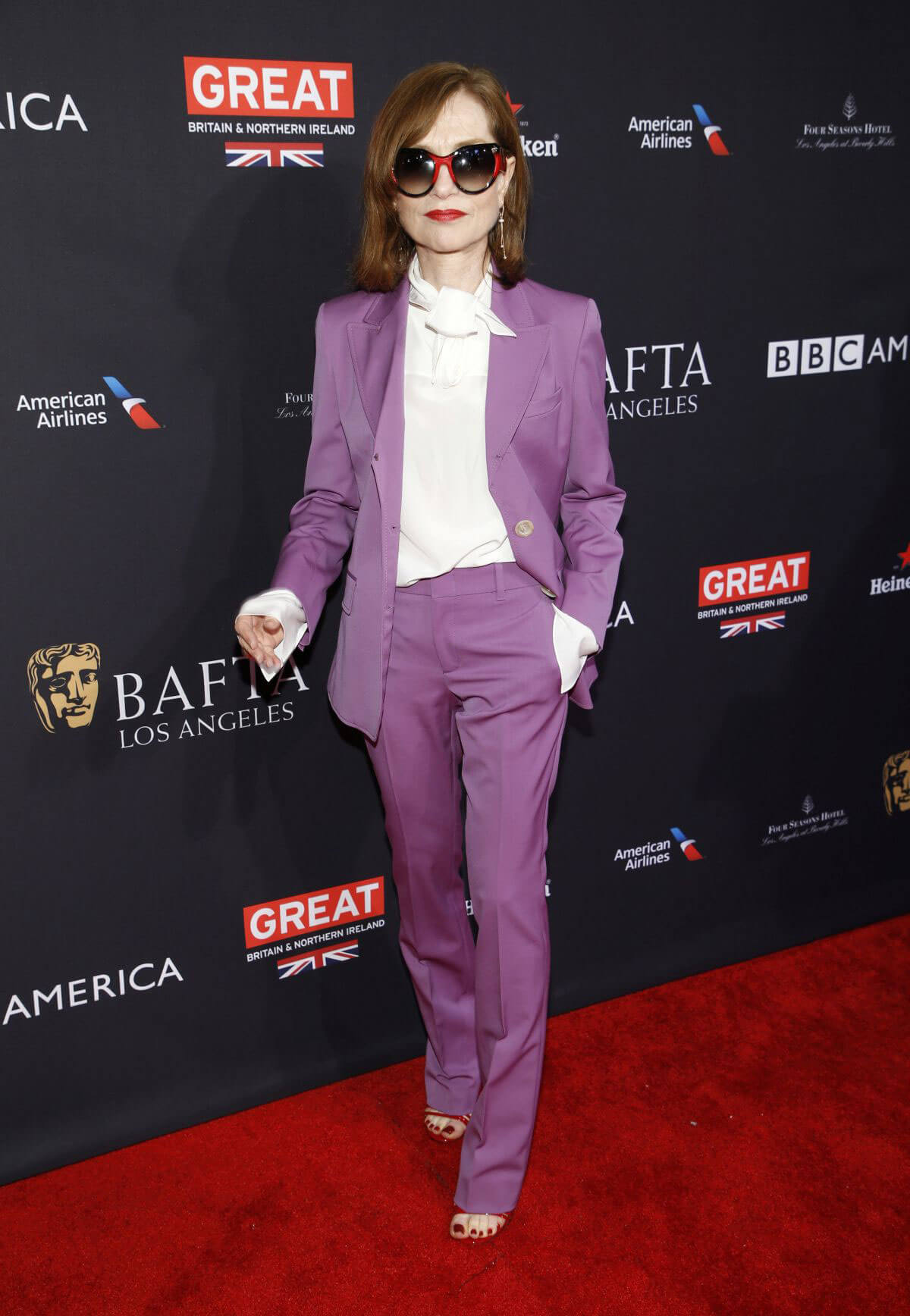 Isabelle Huppert Stills at Bafta Los Angeles Tea Party in Los Angeles 2018/01/06