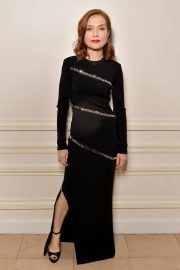 Isabelle Huppert Stills at Sidaction Gala Dinner in Paris 2018/01/25