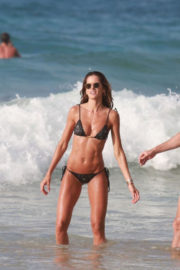 Izabel Goulart and Kevin Trapp Stills at Cacimba Do Padre Beach in Fernando De Noronha 2017/12/30