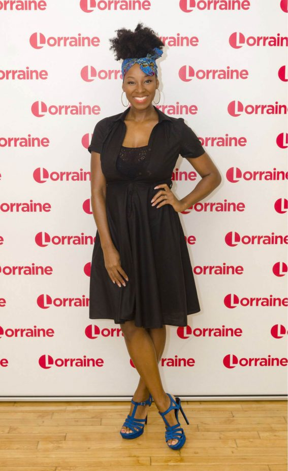 Jamelia Stills at Lorraine TV Show in London 2018/01/29