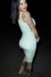 Jemma Lucy Stills Night Out in Manchester 2017/11/18
