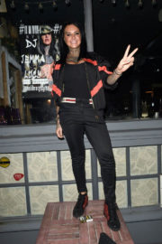 Jemma Lucy Stills Night Out on New Year's Eve in Manchester 2017/12/31