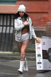 Jemma Lucy Stills Out in Manchester 2018/01/26