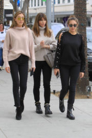 Jennifer Flavin and Sophia and Sistine Stallone Stills Out Shopping in Beverly Hills 2018/01/03