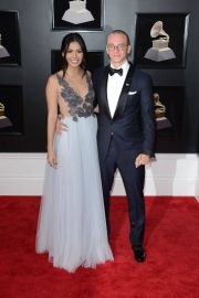 Jessica Andrea and Logic Stills at Grammy 2018 Awards in New York 2018/01/28