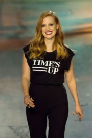 Jessica Chastain Stills at Jimmy Kimmel Live! in Los Angeles 2018/01/03